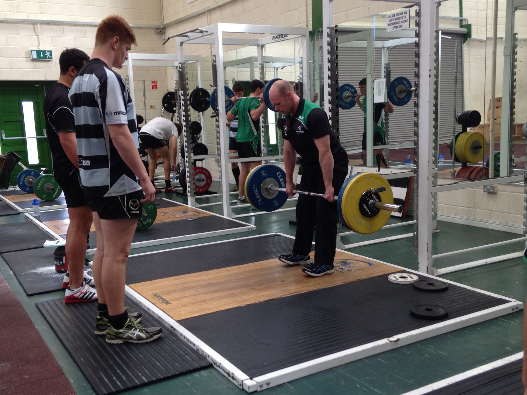 OWN-Galway Physio Strength and Conditioning Connaught Rugby