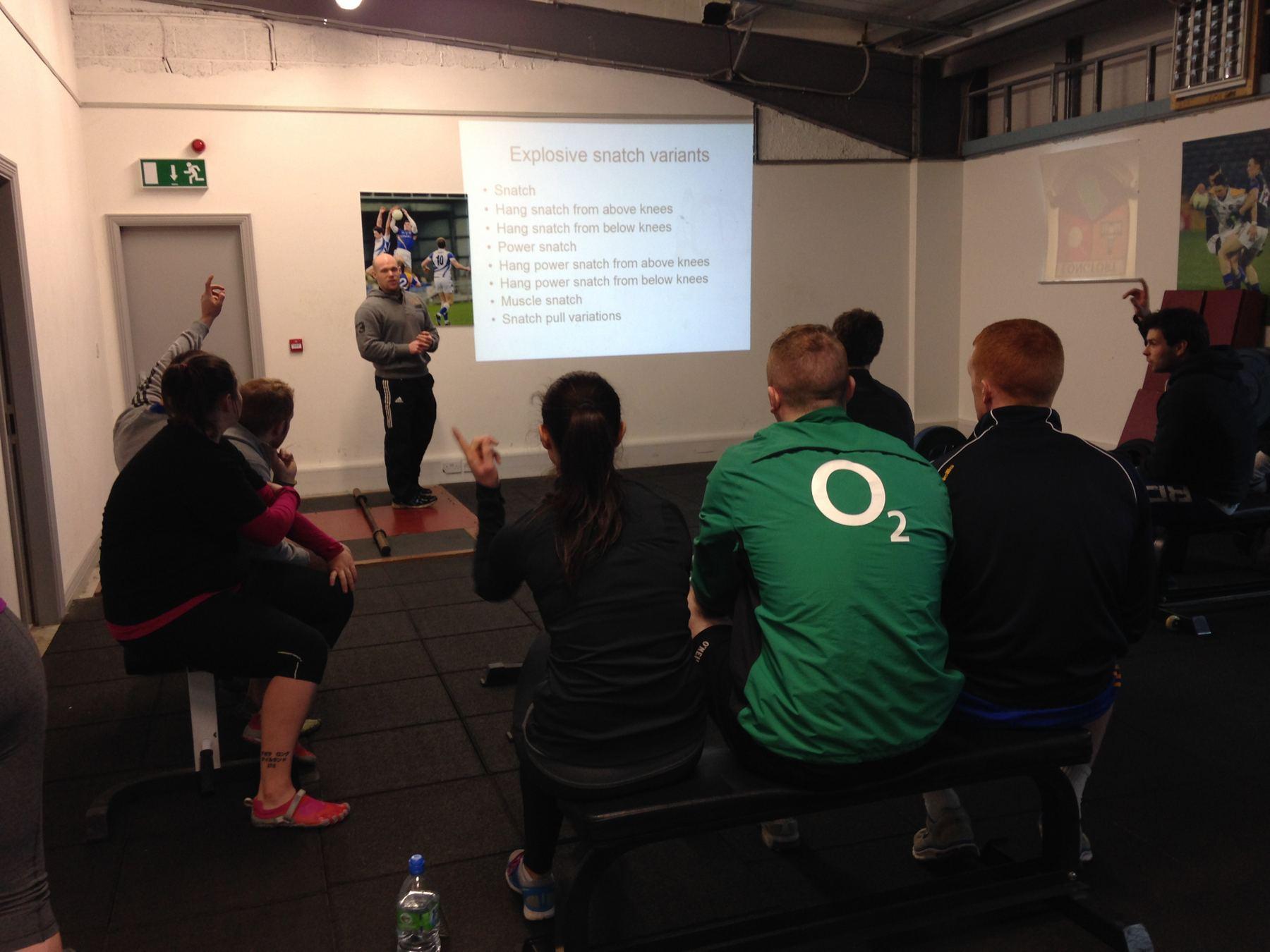OWN-Seminar Galway Physio
